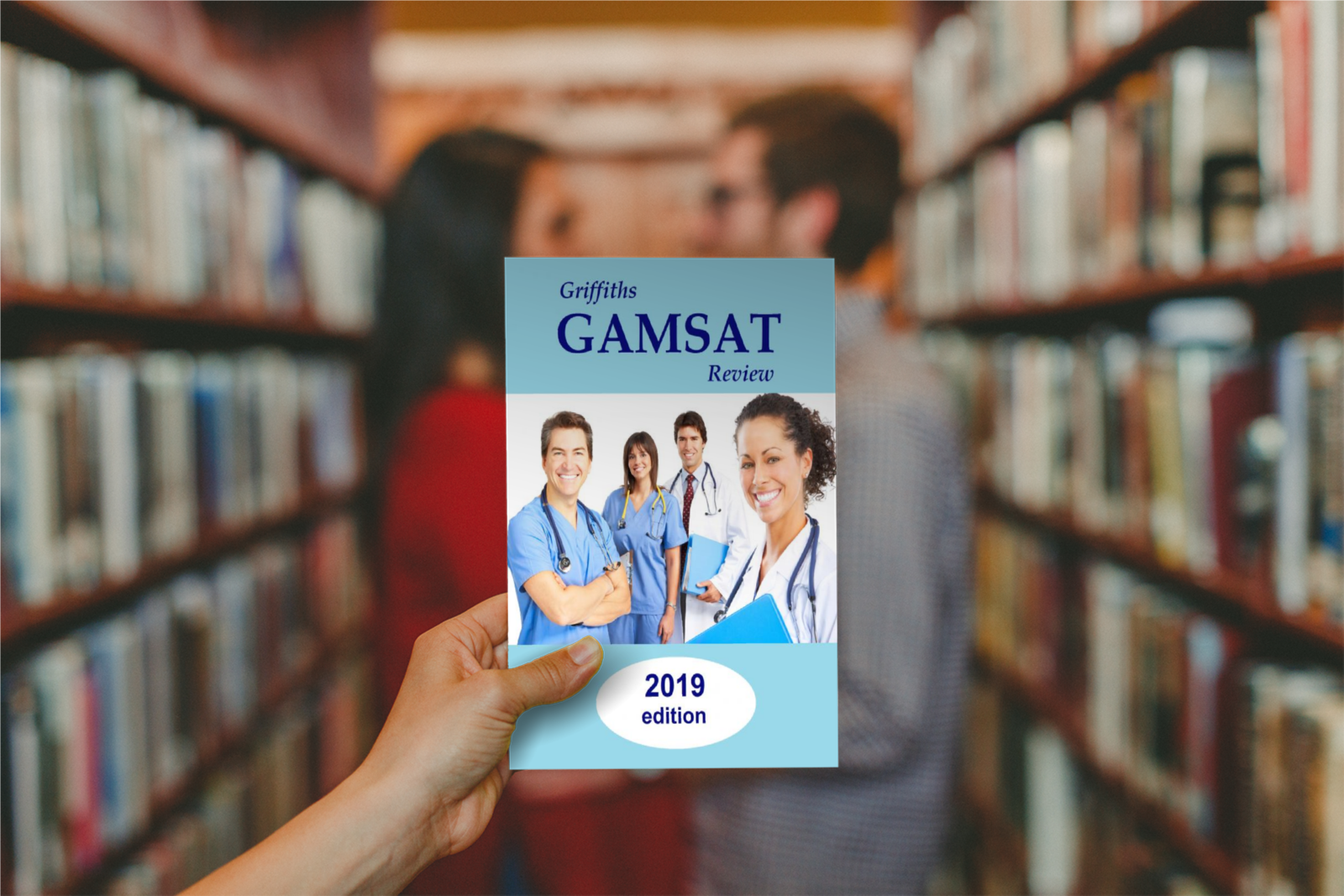 Gamsat review on table