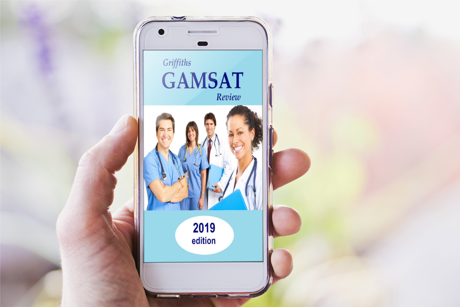 Gamsat Review on mobile phone